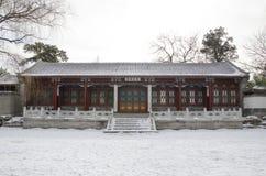 Tsinghuauniversiteit royalty-vrije stock fotografie