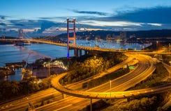 Tsingma-Brücke Lizenzfreies Stockbild