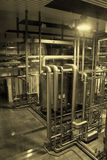 Tsingtao Brewery brewing equipment Royalty Free Stock Photo