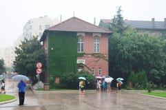 Tsingtao Brewery factory Royalty Free Stock Photos