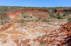Tsingy in Ankarana Madagascar Royalty Free Stock Photo