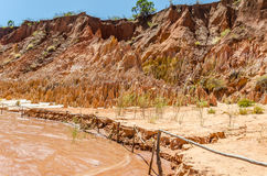 Tsingy in Ankarana Madagascar Stock Photo