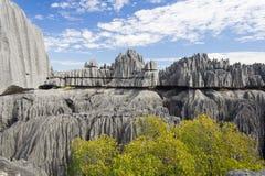 tsingy bemaraha de Arkivfoto