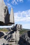 tsingy bemaraha de Arkivbilder