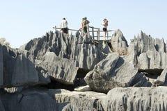 tsingy de bemaraha верхнее стоковое изображение rf