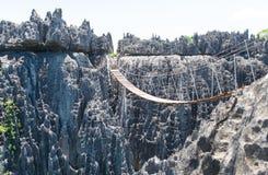 Tsingy de Bemaraha Reservera Arkivfoton