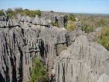 Tsingy di Bemaraha Fotografia Stock Libera da Diritti