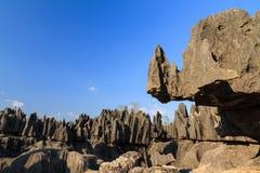 Tsingy rock formations Stock Photos