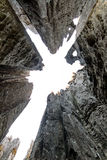 Tsingy shapes Stock Image