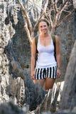 Tsingy skönhet royaltyfri fotografi
