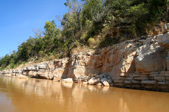 Tsiribihina river in Madagascar Stock Photos