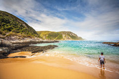 Tsitsikamma National Park. Beach at Tsitsikamma National Park South Africa Stock Photography