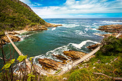 Tsitsikamma National Park South Africa. In the Tsitsikamma National Park South Africa Royalty Free Stock Image