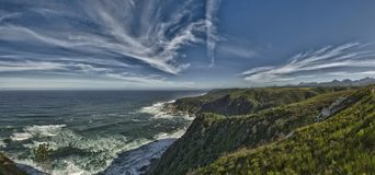 Tsitsikamma Nationalpark (Südafrika) stockfoto