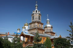 Tsivilsk. Temple of the Holy Martyr Harlampy. Royalty Free Stock Photo