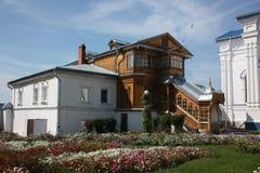 Tsivilsk. Tikhvin Monaster Dziewica. obraz royalty free