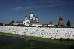 Tsivilsk. The Virgin of Tikhvin Monastery. Royalty Free Stock Photography