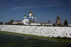 Tsivilsk. The Virgin of Tikhvin Monastery. Royalty Free Stock Photography