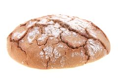 Tsjechisch geïsoleerd brood Royalty-vrije Stock Afbeeldingen