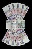 Tsjechisch geld Stock Fotografie
