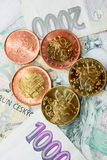 Tsjechisch geld Stock Foto