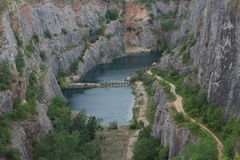Tsjechisch Grand Canyon Amerika royalty-vrije stock afbeeldingen