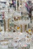 Tsjechisch kristal Stock Afbeeldingen