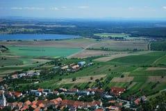 Tsjechisch landschap royalty-vrije stock fotografie