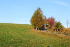 Tsjechisch landschap stock foto