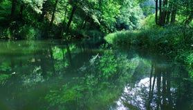 Tsjechisch landschap stock foto's