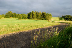Tsjechisch landschap royalty-vrije stock foto