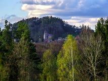 Tsjechisch paradijslandschap royalty-vrije stock foto's