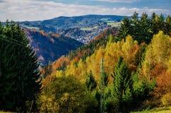 Tsjechisch paradijslandschap Stock Foto's