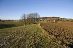 Tsjechisch platteland Royalty-vrije Stock Fotografie