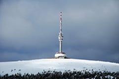 Tsjechische berg - Praded Royalty-vrije Stock Foto