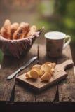Tsjechische bierbaguettes rohlíky Pivní Stock Foto