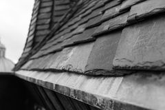 Tsjechische daken Royalty-vrije Stock Afbeeldingen