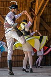 Tsjechische dansers Stock Fotografie