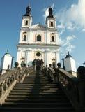 Tsjechische kerk Royalty-vrije Stock Foto's