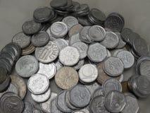 Tsjechische korunasmuntstukken Royalty-vrije Stock Afbeeldingen