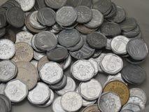 Tsjechische korunasmuntstukken Royalty-vrije Stock Foto