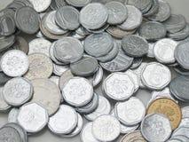 Tsjechische korunasmuntstukken Royalty-vrije Stock Foto's