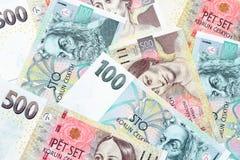 Tsjechische kronen Royalty-vrije Stock Fotografie