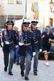 Tsjechische militairen Royalty-vrije Stock Afbeelding