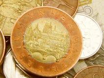 Tsjechische munt Royalty-vrije Stock Afbeelding
