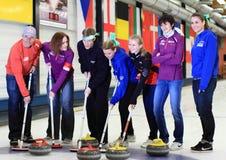 Tsjechische Olympionics Stock Afbeelding