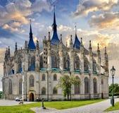 Tsjechische Republiek, Kutna Hora, Unesco royalty-vrije stock afbeelding