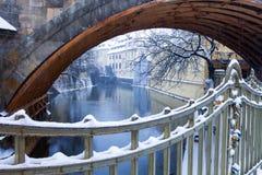 Tsjechische Republiek, Pague, Charles Bridge royalty-vrije stock afbeelding
