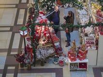 Tsjechische republiek, Praag, Palladium winkelend centrum, 23 November, Royalty-vrije Stock Afbeelding