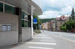 Tsjechische Republiek Straat Kutna Hora 14 Juni 2016 Royalty-vrije Stock Foto